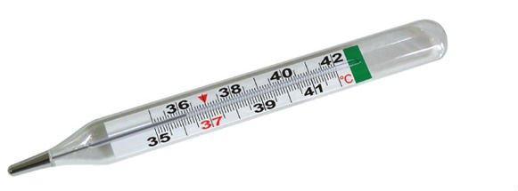 glass_Non_mercury_thermometer