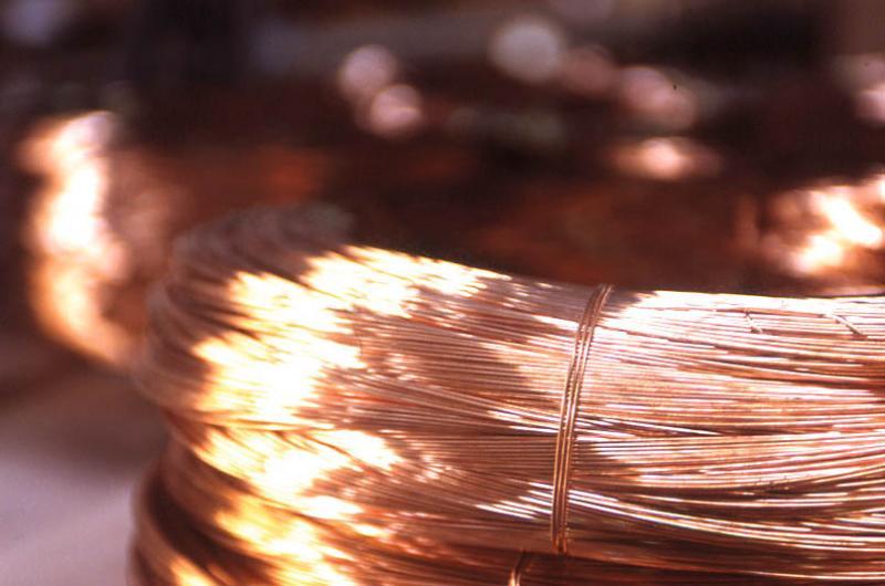 Rouleau de fils de cuivre