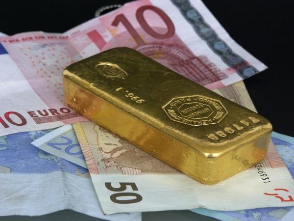 Baisse du cours de l'or