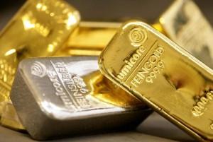 Lingot d'or et d'argent